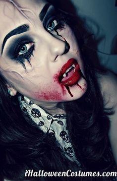 vampire makeup for Halloween » Halloween Costumes 2013