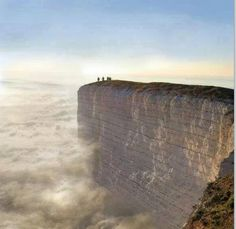 Worlds edge in south England