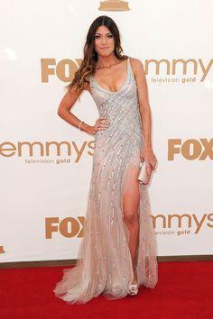 Jennifer carpenter. Love the dress.