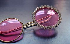 Shine Trim: DIY: Rhinestone Peace Sunglasses