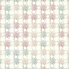 Stylized Stars Modern Christmas Print Paper ~ Tassotti
