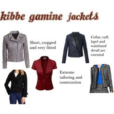 Kibbe Gamine Jackets
