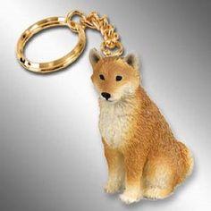 Shiba Inu Pet Dog Key Chain Ring Holder Accessories