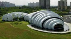 Pod pavilion by Studio Nicoletti Associati-Kuala Lumpur, Malaysia