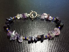 The crystals on your bracelet can help you improve mental focus and clarity. Your crystal bracelet is made from quality crystals which have been