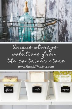 We rounded up 21 unique Container Store finds for your home and RV for amazing organization solutions!