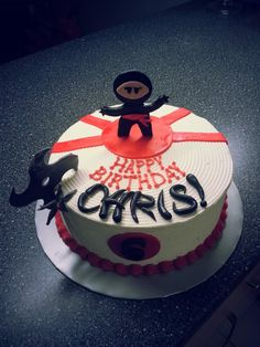 Ninja Cake by Sarah's Kitchen