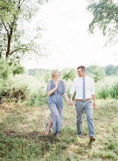 Dusty Blue Anniversary Session - The White Wren Engagement Photo Outfits, Engagement Photo Inspiration, Engagement Couple, Engagement Pictures, Engagement Session, Couple Photography Poses, Friend Photography, Maternity Photography, Engagement Photography