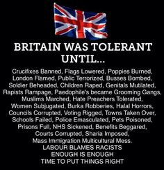 The scourge of Islam is destroying Britain. When will those folks fight back against evil? Quran In English, Scum Of The Earth, Sharia Law, Open Your Eyes, Common Sense, Great Britain, Wake Up, About Uk, Islam