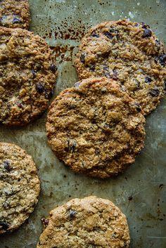 Dark Chocolate cherry Cashew Cookies
