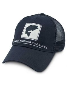 58321968 Simms Bass Trucker : Fishwest Bass, Baseball Hats, Fly Fishing Gifts, Stock  Options