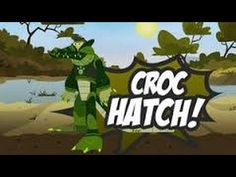 Wild Kratts Croc Hatch Cartoon Animation PBS Kids Game -Use the Crocodile Power Suit to help hatch a new litter of baby crocs. Play Wild Krattd Croc Hatch Game