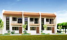 Townhouse Plans Series : is a 3 unit row house. Each unit is identical …