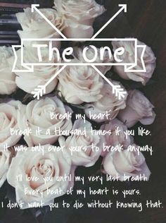 Young Adult Gloss : The One (The Selection #3) by Kiera Cass