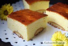 Sernik na biszkoptach | KuchniaWeDwoje.pl - Prosty i sprawdzony przepis. Polish Desserts, Cheesecakes, Birthday Cake, Baking, Recipes, Cake Ideas, Foods, Polish Recipes, Recipe