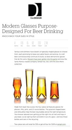 @fastcompany Thanks for the shoutout!  #sempli #beer #design