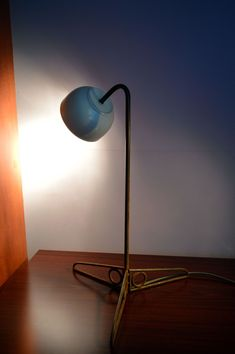 Metal rusty table lighting