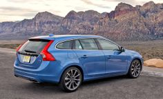 Volvo V60 T5 Drive-E  Fun to drive and smooth to ride in! Our family wagon but in another color!