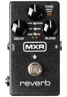 MXR - M300 Digital Reverb #MXRPedals #MXR #Dunlop #EffectsPedals #Effects #AmericanMusical #AmericanMusicalSupply