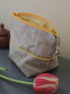 HApPy aiMe,Trousse lin enduit naturel