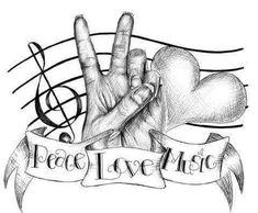I Love Music Wallpaper - I Love Music, Music Is Life, Cannabis, Image Tatoo, Music Tattoo Designs, Tattoo Music, Music Notes, Music Music, Warrior Angel