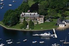 Mansion in Cohasset, Massachusetts.