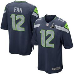 cbf81b925 2015 Seattle Seahawks 12th Fan Super Bowl XLIX Bound Elite Jersey  (www.repjerseys.