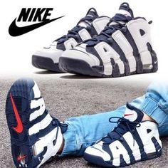 7cb3ba97f28 Nike スニーカー 大人も履ける!NIKE(ナイキ)◇AIR MORE UPTEMPO スニーカー アディダス