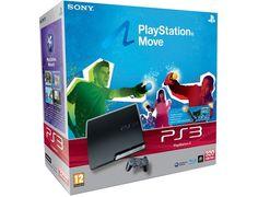Console PS3 SONY 320 Go Pack Move - Eye Camera : La PlayStation®3 vous propulse au cœur d'un univers de divertissement exceptionnel pour toute la famille. Vivez des aventures inoubliables grâce à la Haute Définition sublime et aux jeux en 3D stéréoscopique, regardez des films géniaux au format Blu-ray Disc, accédez gratuitement au PlayStation®Network et bien plus encore.