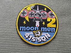 Patch CP-140 Aurora RCAF 415 Sqn Crew 2 Moon Men P-3 Orion Canadian Air Force