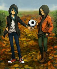 Nathan x Axel Inazuma Eleven Axel, Nathan Swift, Jude Sharp, Eleven 11, Play Soccer, Chibi, Anime Art, Sketches, Instagram
