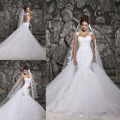 Custom 2015 Mermaid Wedding Dresses Sexy Halter Beautiful Court Train Illusion Transparent Back Beaded Lace Bridal Gowns Beach Online with $181.16/Piece on Weddingmall1989's Store | DHgate.com