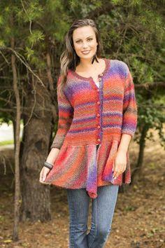 Free Universal Yarn Pattern : Walking Bird Cardigan