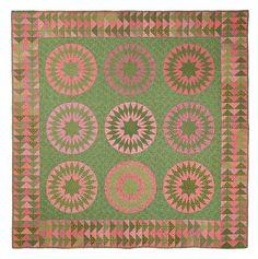 Pennsylvania Sunburst Pattern - Michelle Yeo Quilt Designs