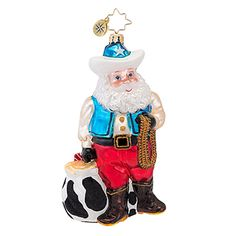 Radko Ornaments Destination Christmas Ornament Rootin Tootin Nick