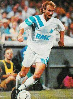 Rudi Voller of Marseille & Germany in 1992.