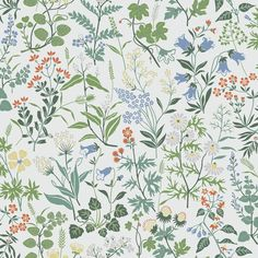 Tapet Boråstapeter Jubileum 5475 - wallpaper summerhouse flowers