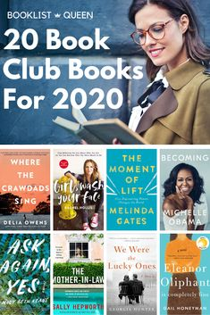 Don't be caught without a suggestion when it's your turn to host book club. Just choose one of these top 20 book club books for Best Book Club Books, Best Books To Read, I Love Books, Great Books, My Books, Book Club Recommendations, Starting A Book, Books For Moms, Reading Challenge