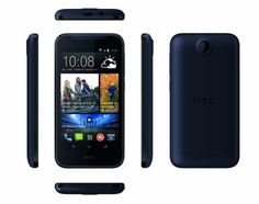 "HTC Desire 310 - Smartphone libre Android (pantalla 4.5"", cámara 5 Mp, 4 GB, Quad-Core 1.3 GHz, 1 GB RAM), azul [importado]"