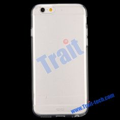 Wholesale Transparent PC+TPU Back Case for iPhone 6  4.7 Inch (Pure Transparent)