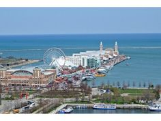 Great views of Navy Pier | 415 East North Water Street, Chicago, IL