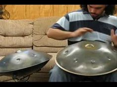 "Funky new melodic percussion instrument -- the ""hand pan""! (Dante Bucci - ""Fanfare"" - Copyright 2008)"