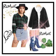 """ROMWE 03"" by fatimazbanic ❤ liked on Polyvore"