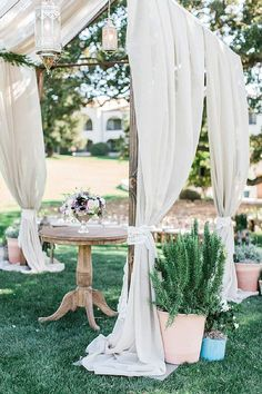 California Jessica & Brian: A Lush and Lovely Herb-Filled Wedding at Ojai Valley Inn and Spa Ojai Valley Inn And Spa, Bohemian Wedding Inspiration, Chuppah, Spanish Style, Event Photography, Outdoor Ceremony, Event Design, Garden Wedding, Lush