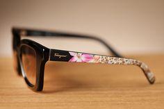 Classic design! Beautiful style. Ferragamo sunglasses for your summer look