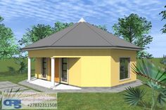 Total living space square meters) Total house area square meters) Overall dimensions x Round House Plans, Simple House Plans, Modern House Plans, House Floor Plans, 1 Bedroom House Plans, Site Plans, Garage Plans, Gazebo, Shed