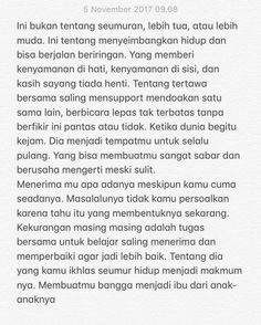 28 Ideas for quotes indonesia cinta kecewa Quotes Rindu, Text Quotes, Words Quotes, Life Quotes, Jodoh Quotes, Sabar Quotes, Cinta Quotes, Wattpad Quotes, Quotes Galau