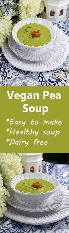 Pea Soup with Thyme in 20 Minutes   Eating Works