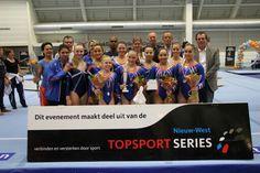 Nk Teams-prolongatie van de nederlandse titel. NEDERLANDS KAMPIOEN