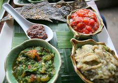 Delicious food from Tamarind Cafe in Luang Prabang, Laos